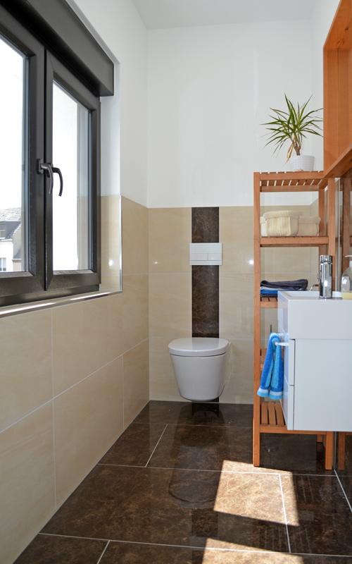 Gäste-WC in einer Neubau-Wohnung